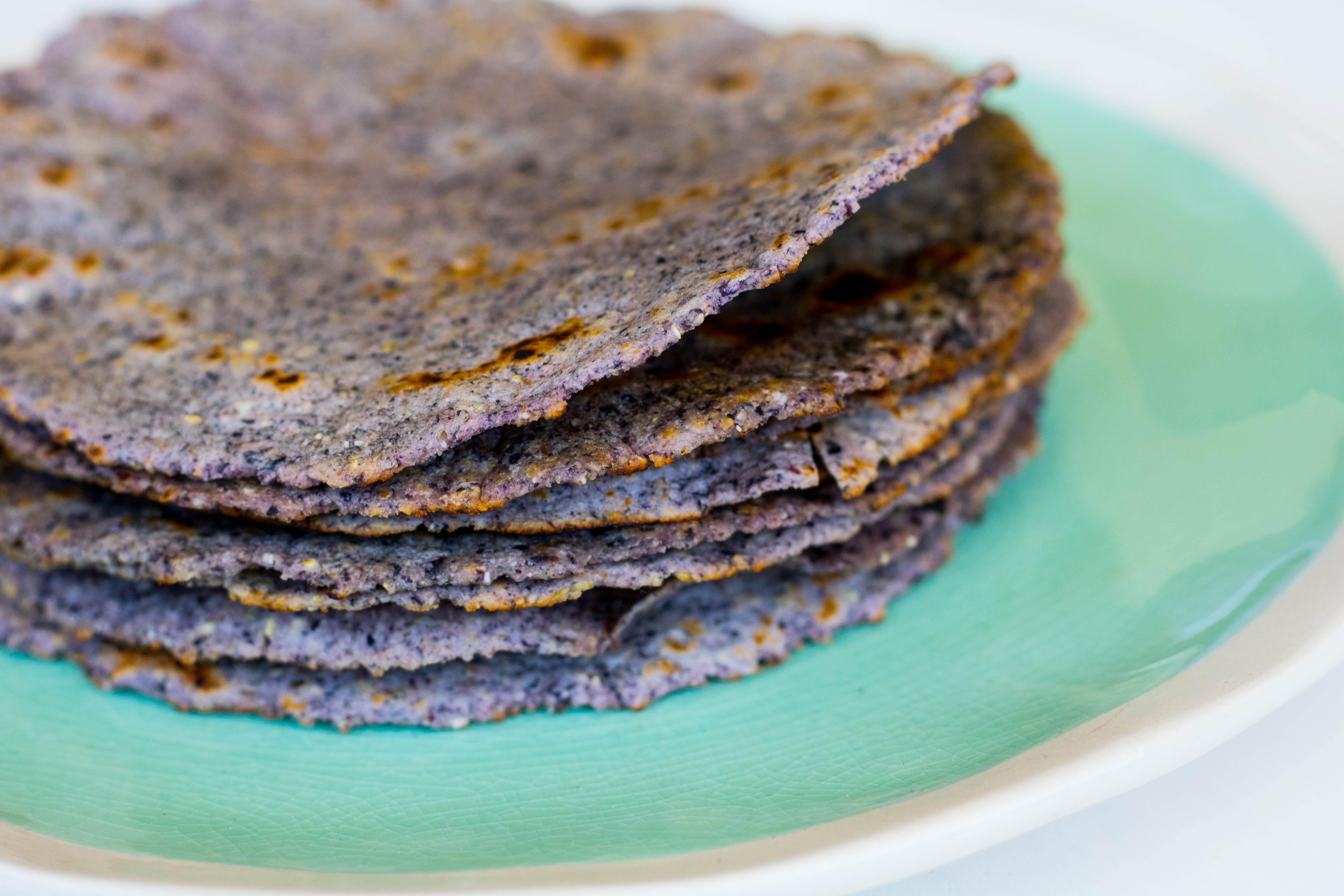 Homemade Corn Tortillas Plant Bellies